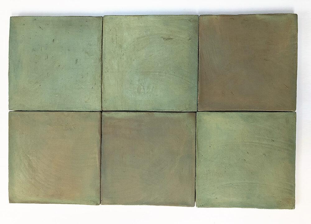 Cuadrado verde claro serie Mediterránea